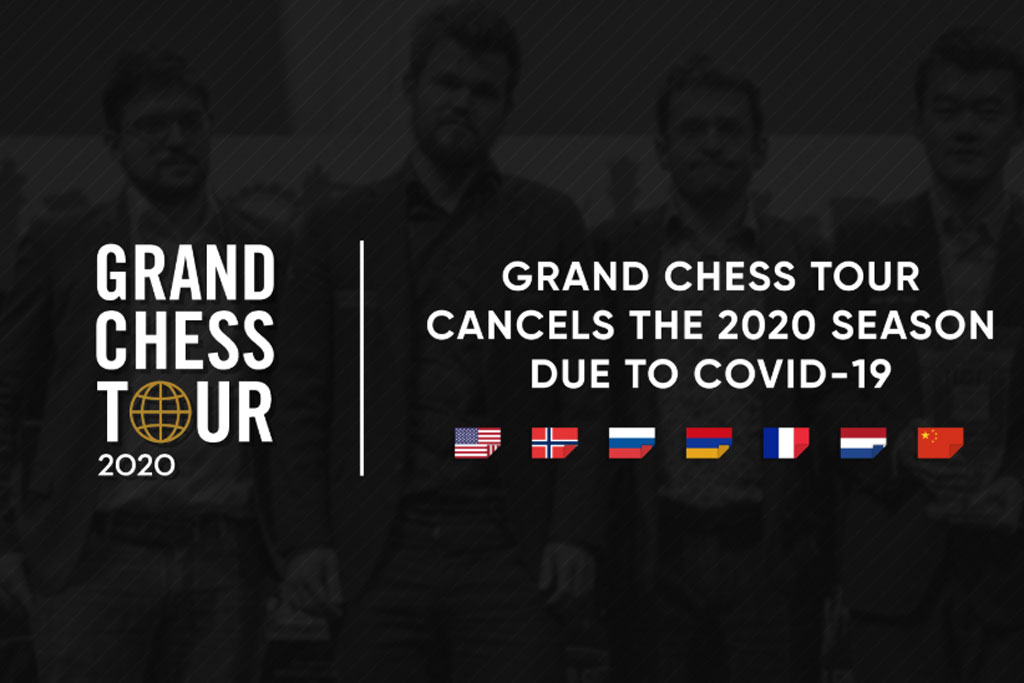 Grand Chess Tour Serie 2020 abgesagt